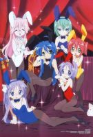 Lucky Star OR Haruhi X3 by DNX3