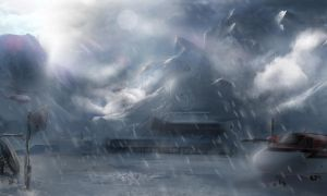Concept Art : Snowfall by Gycinn