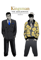Kingsman The JOJO Service by areyouhun