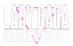 The Born This Way Tour Logo PNG by AndryZapote
