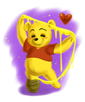 Winnie the Pooh: Honey Art by daekazu