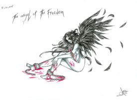 The Angel Of The Freedom by TheSoulHunteress