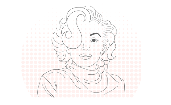 Marilyn Monroe by lymblack