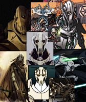 Collage of Grievous by LadyIlona1984