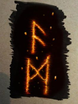 Runic Embers by MillionPM