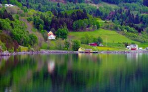 Reflections Skjolden04 by abelamario