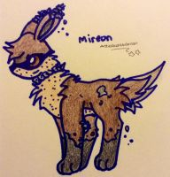 Mireon(fakemon) by TheNeonUmbreon