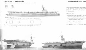 Technical Drawings: USS Casablanca by bwan69