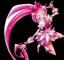cure blossom by Roxy400DX