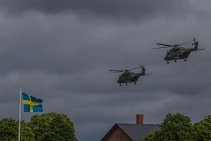 Helicopter 14 for Sweden by JRL5