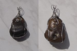 Wire wrapping pendant 8: comission by ShadeJewerly