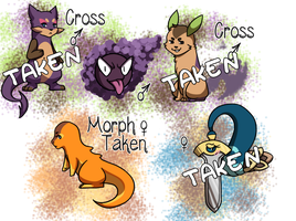 PKMNation: Clutch Dump #2 [CLOSED] by Rosbelle