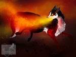 Commission: Amber Embers by MischievousRaven