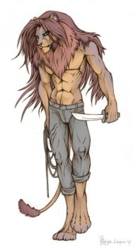Hakord the lion by OmegaLioness