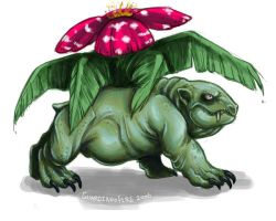 .Venusaur. by guardianofire