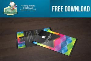 FREE DOWNLOAD PSD Business Card Mock Up by DesignersBestFriend