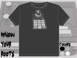Know Your Roots t-shirt design by fauxster