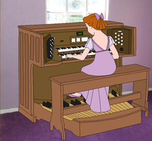 Lonesome Organist by SelenaEde