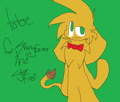 For ShinyEevee9001 And StarFire  .: Tobe :. by SlenderStarAtNight