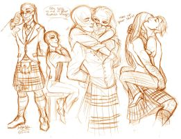 Because Kilts are Sexy by MistyTang