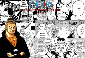 one piece character tournament 2013 winner by DOR20