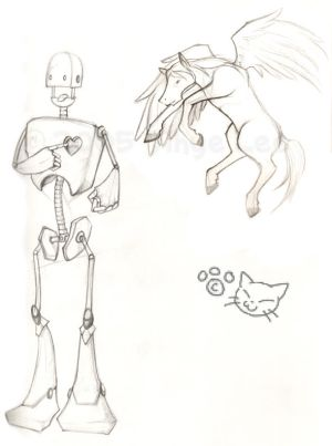 TinMan and FloatyPony