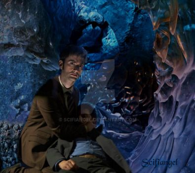 Trapped-photo manipulation and drabble by Scifiangel