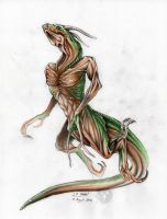Tree Serpent concept by EnigmaticPhantasy