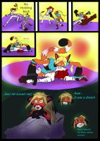 Dream Fight Ginpu fancomic by AmaltheaTwin