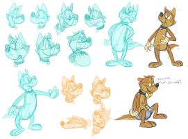 Silly doodles 6 by valdo-wolf