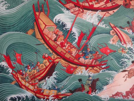 Mongol Invasion to Island Country-Detail 2 by HappyMorningStar