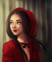 Red Riding Hood [SPEEDPAINT] by WernoZaur