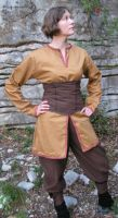 Lady Viking Clothes by Bear-Crafter