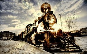 train that time has forgotten by philhorn