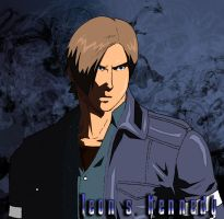 re6 leon s Kennedy by leontmp98