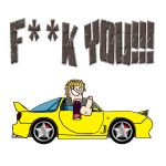 ROAD RAGE - KT says FU by pinakaguwaping