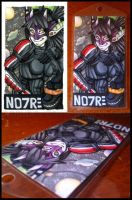 Aug Com :: Noire Badge by Nanuka
