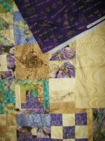 My Quilt Binding, Backing, And Topper by Faith-Bailey