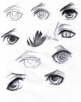 Ciel's Eyes by Jeageractive