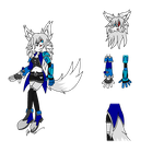 Reference : [2017] Rika the Silver Wolf by Riku-Wyser-Chronos