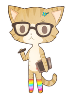 Hip-cat-ster by TangolaDude