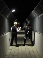 DUrarara : Fight in the Night by MischievousBoyAilime