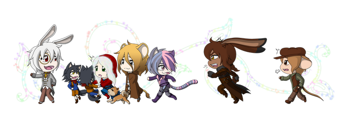 Faye Fable and Her Seven Dorks by Wren-chans-DA