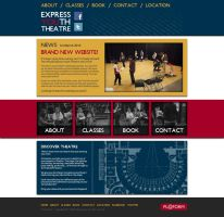 Express Youth Theatre Website by Lycanstrife