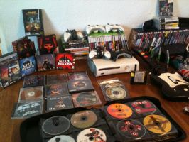 Video Game Collection 2015 (Closer look #2) by elvenbladerogue