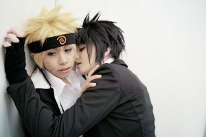 SasuNaru by Deadelmale