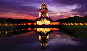 Monument to the Battle of the Nations in Leipzig by Kunstlab