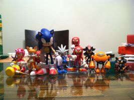 My Sonic Figure Collection by Sonicdude645