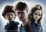 Harry, Ron and Hermione by CarlosRubio