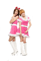 SNSD Yoona And Tiffany YoonFany Christmas ~PNG~ by JaslynKpopPngs